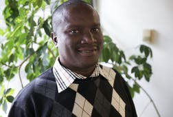 Kanyinke Sena, an Ogiek from Kenya, is a member of the Indigenous Advisory Group