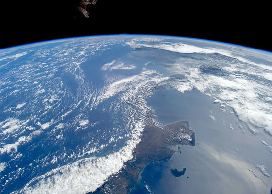 Central America as seen from space