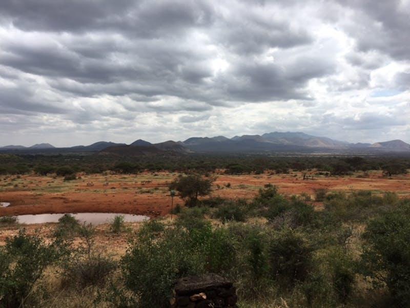 Chyulu Hills, Kenya.