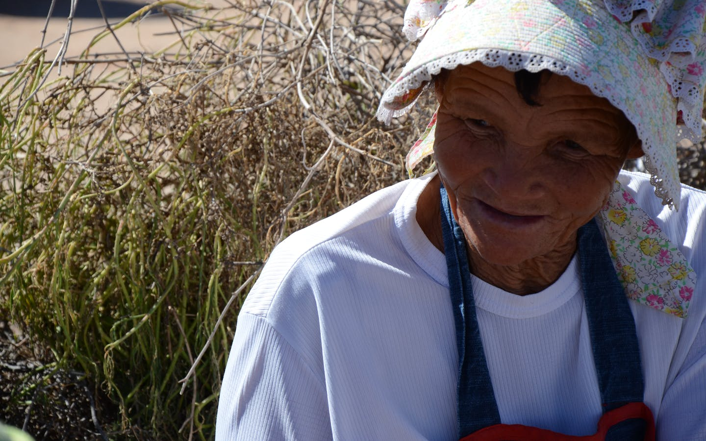 Local Nama lady in Namaqualand