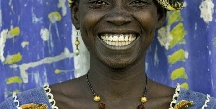 Portrait, Malian woman