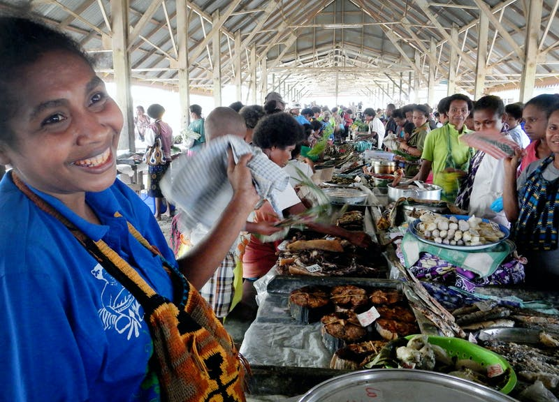 Alotau central market, Milne Bay