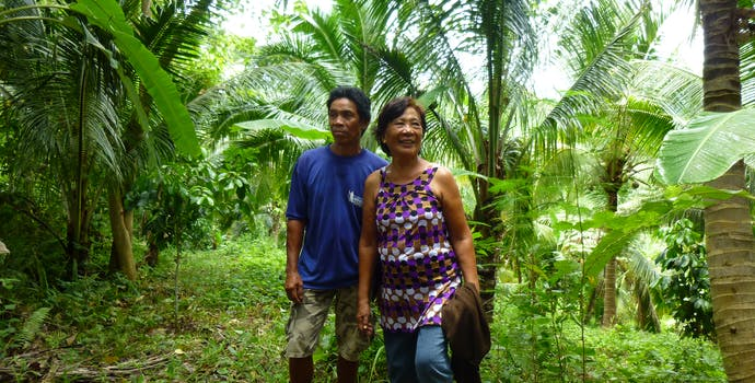 Participants in the Quirino Forest Carbon Project