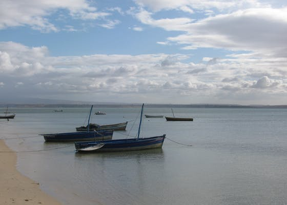 Boats in Diego Suarez, Madagascar