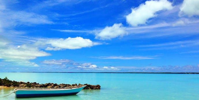 Lagoon in Tarawa