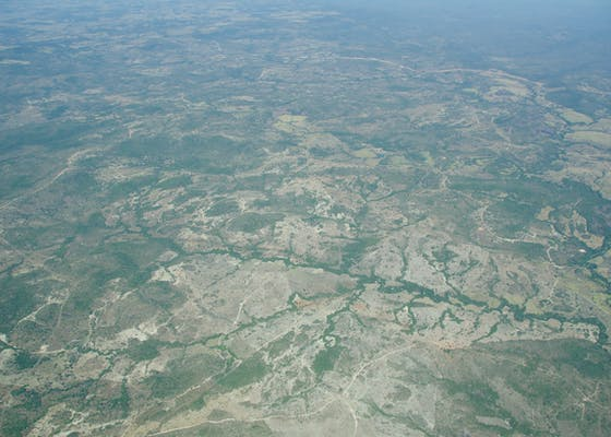 Cerrado and deforestation between Brasilia and the Xingu
