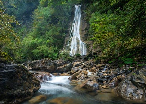 Anzihe Protected Area, Chongzhou, Sichuan.