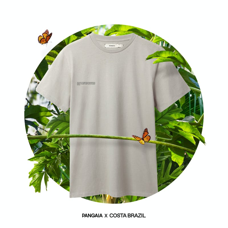 Pangaia x Costa Brazil Organic Cotton T-Shirt