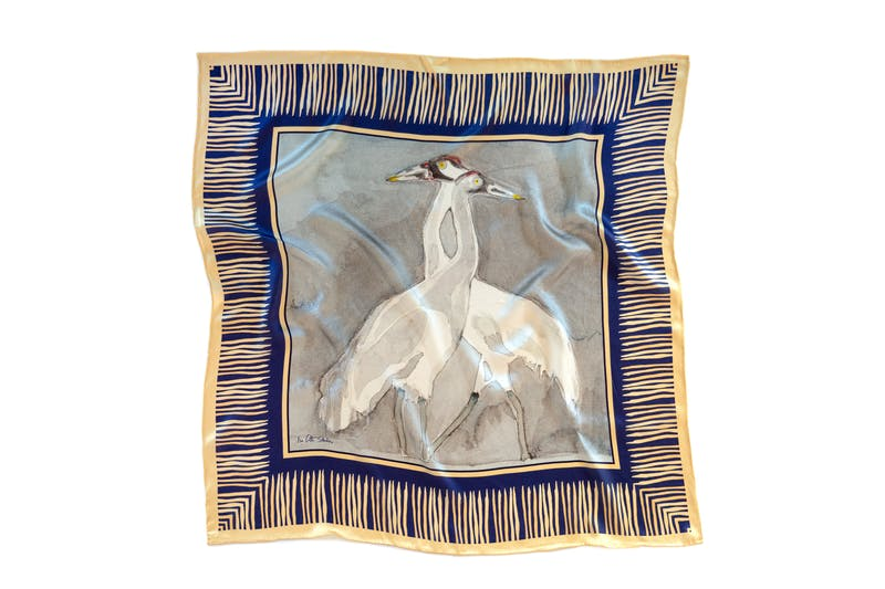 Italian silk scarves by Isa Catto