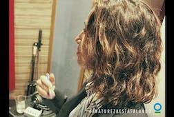 """Camila Pitanga recording """"A Amazônia"""""""