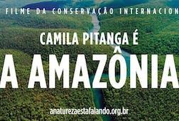 Camila Pitanga é A Amazônia