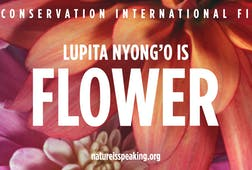 Lupita Nyong'o is Flower