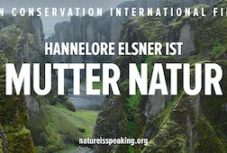 Hannelore Elsner ist Mutter Natur