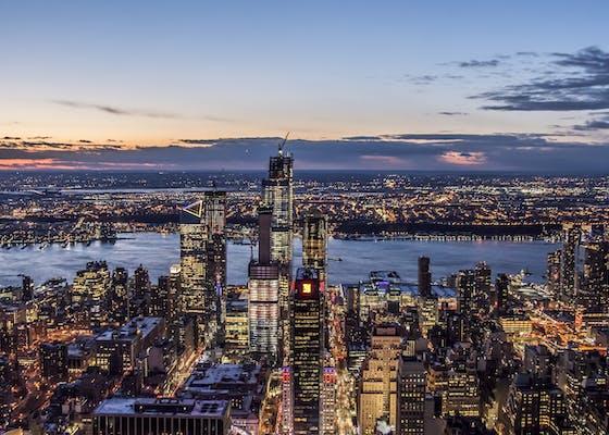 The_New_York_City_Skyline_at_Dusk